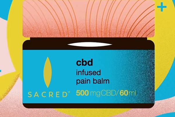 Free Sacred CBD Pain Balm