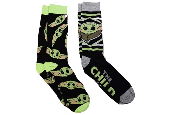 Free Baby Yoda Socks