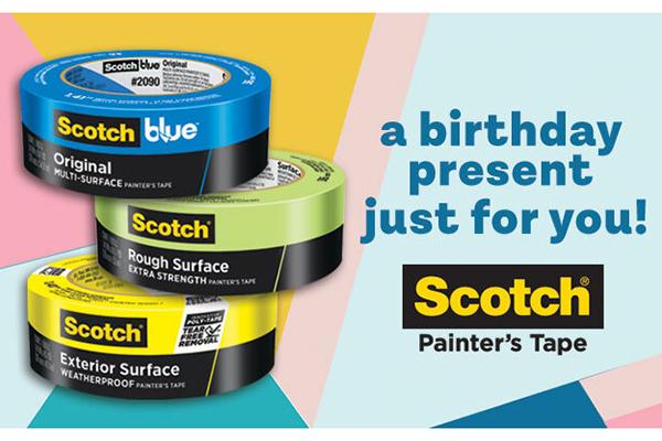 Free Scotch Painter's Tape