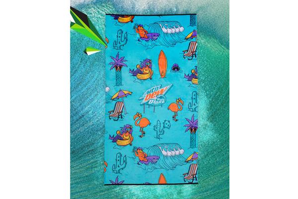 Free Baja Blast® Towel
