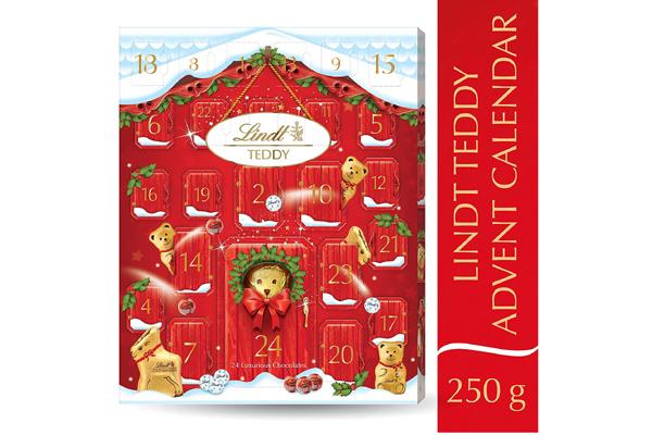 Free Lindt Bear Advent Calendar