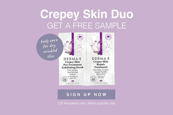Free DERMA E Skincare Set