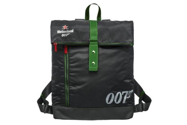 Free Heineken James Bond Backpack