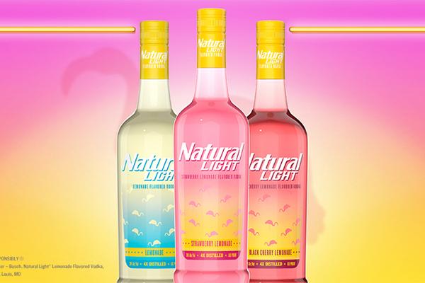 Free Natural Light Vodka