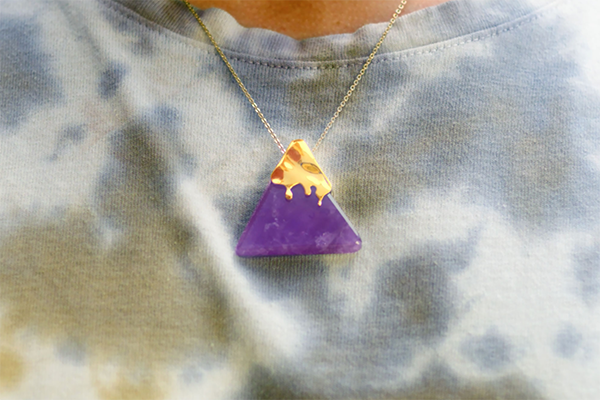 Free Nacho Crystal Necklace